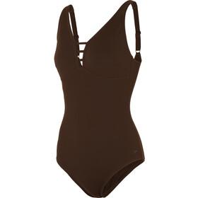 speedo OpalGleam One Piece Swimsuit Women chocolate